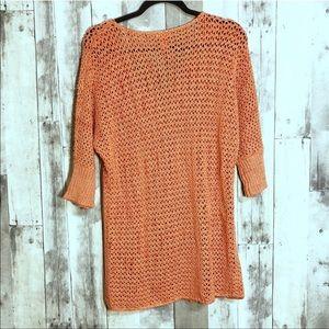 Sundance Sweaters - Sundance   small   orange knit tunic sweater